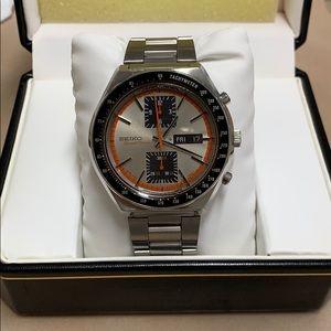 SEIKOSpeed-Timer Automatic Chronograph Mens Watch